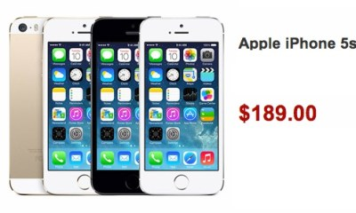 The Walmart iPhone 5s deal chops $11 off the price of the iPhone 5s ahead of release.