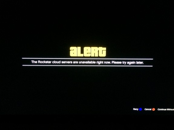 "The GTA Online error, ""Rockstar Cloud Servers Unavailable"" is what we see most often while playing GTA Online."