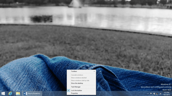 How to Disable the Start Screen in Windows 8 (4)