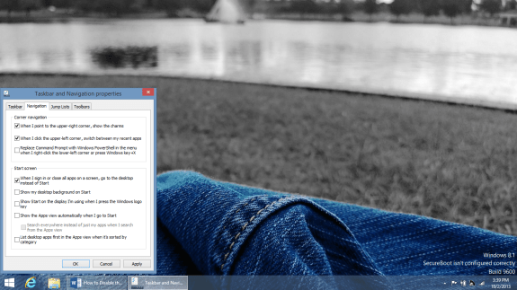How to Disable the Start Screen in Windows 8 (6)