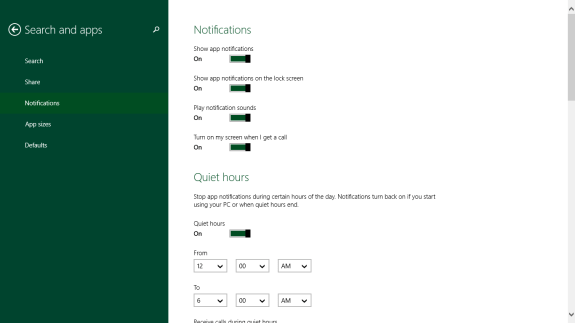 How to Stop Notifications in Windows 8 (7)