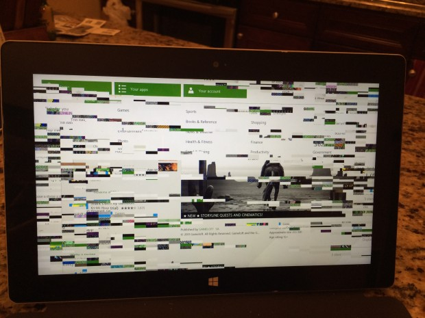 What Happens when Windows Store Crashes on Surface 2
