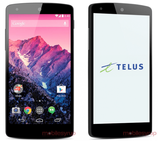 The Nexus 5 display is 4.97-inches with a 1080P HD resolution.