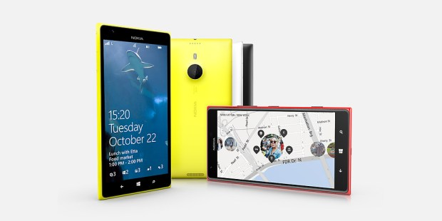 The Nokia Lumia 1520