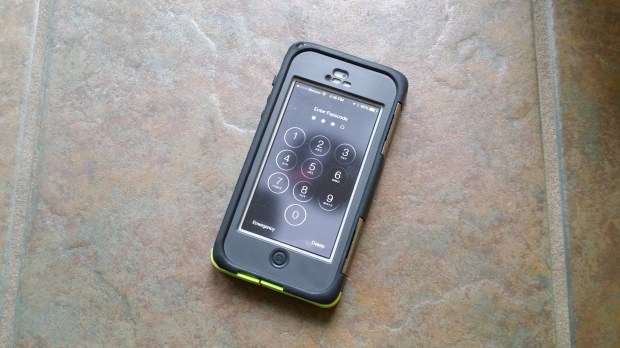 OtterBox Armor iPhone 5 case includes a built-in screen protector.
