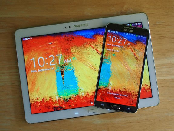 Two of Samsung's most powerful mobile products: the Galaxy Note 3 is Samsung's most powerful smartphone to date and the Galaxy Note 10.1 2014 Edition is Samsung's premium flagship tablet for those who demand more.