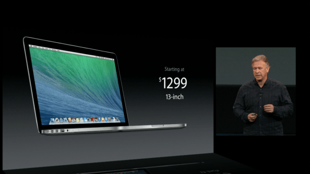 macbook pro for $1299