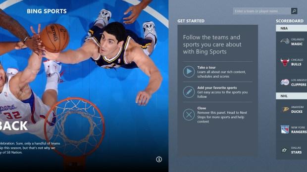 The Bing Sorts App
