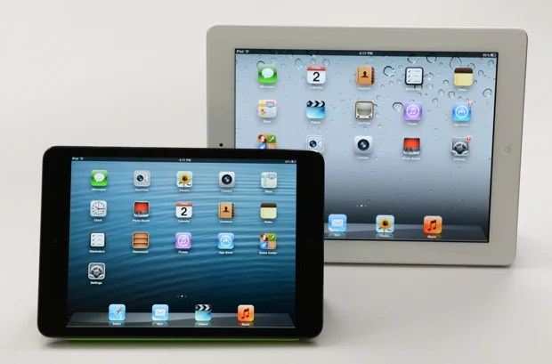 iPad mini 2 display