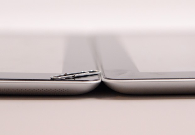 If the iPad mini 2 is thicker thanks to a Retina Display, don't expect a noticeable increase in size.