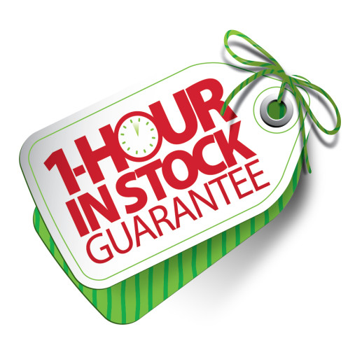 1 hour in stock guarantee Walmart Black Friday 2013