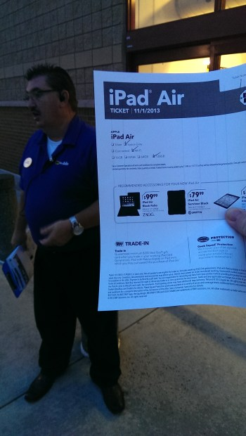 certificate for apple ipad air at best buy