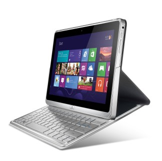 Acer TravelMate-X313 side view