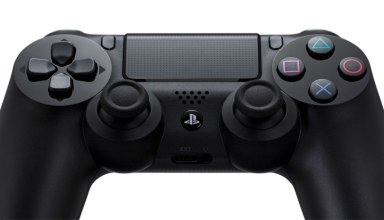 Plug a standard headphone into the PS4 to game without anyone hearing you.
