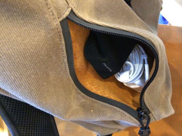 staad backpack side pocket