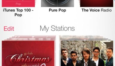 itunes radio on iphone