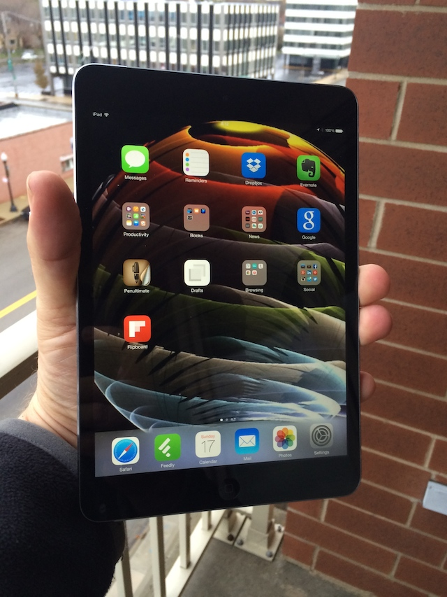 The iPad mini with Retina Display