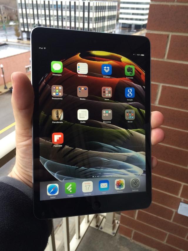 The iPad mini with Retina Display