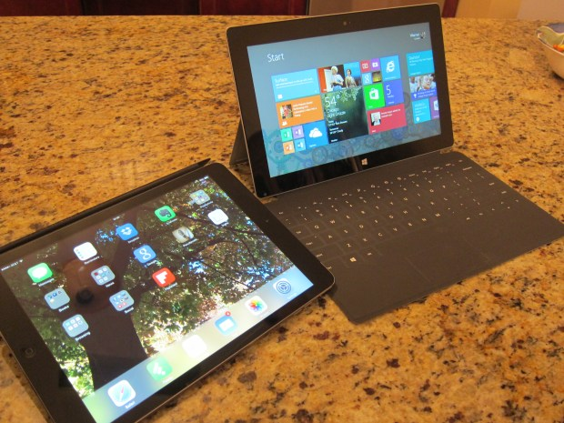 The iPad Air and The Surface 2 Compared