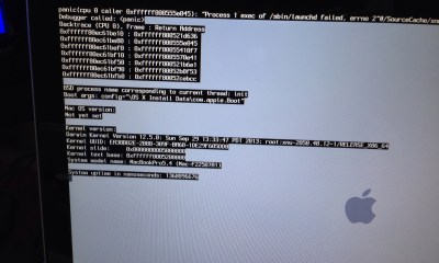 OS X Mavericks upgrade boot loop and kernel panic can prevent an easy upgrade.