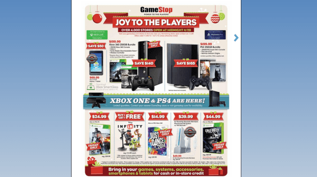 PS4 Xbox One on Black Friday (2)