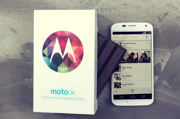 Moto X KitKat