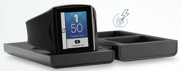 qualcomm Toq Smartwatch charging cradle