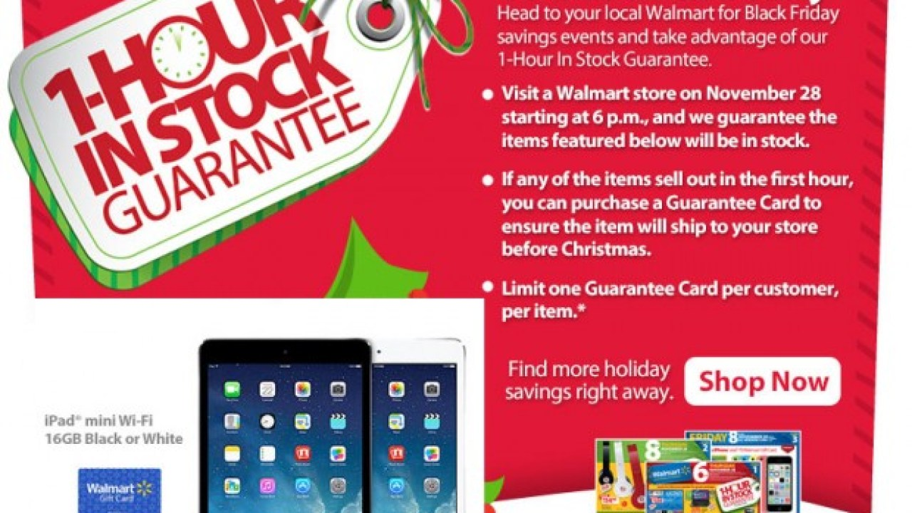 Walmart Stock Phone Number >> Walmart Black Friday 2013 The Only Place Worth Waiting For Tech Deals