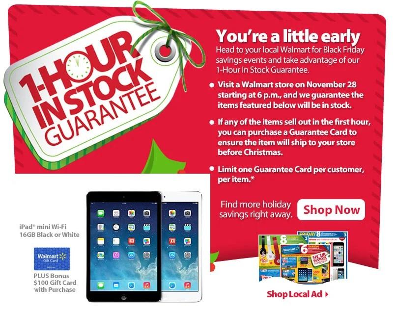Walmart Black Friday 2013 Ad Brings iPad mini Deal You Can't