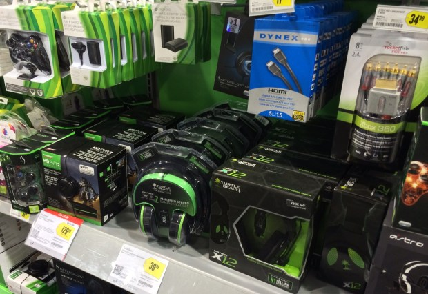 Xbox One accessories will be limited on the release date, and through 2013.