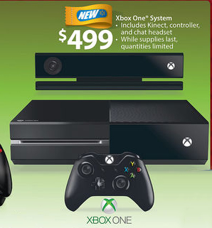Xbox One Black Friday deals on the console won't be found.
