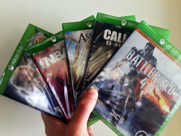 Don't expect Xbox One game shortages.