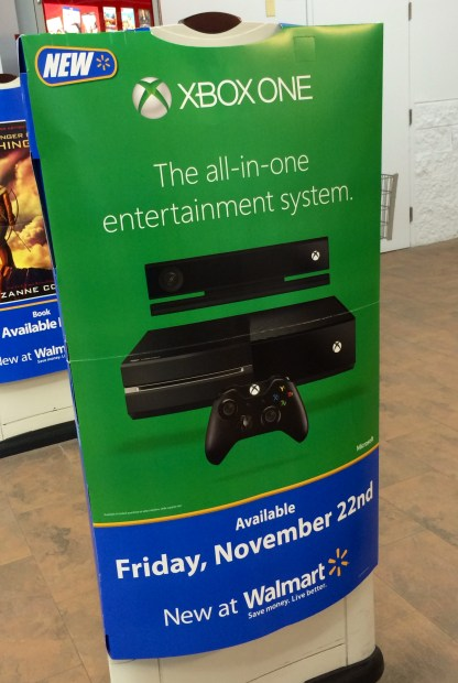 The Xbox One release at Walmart starts at midnight and should offer a chance for gamers without a pre-order.