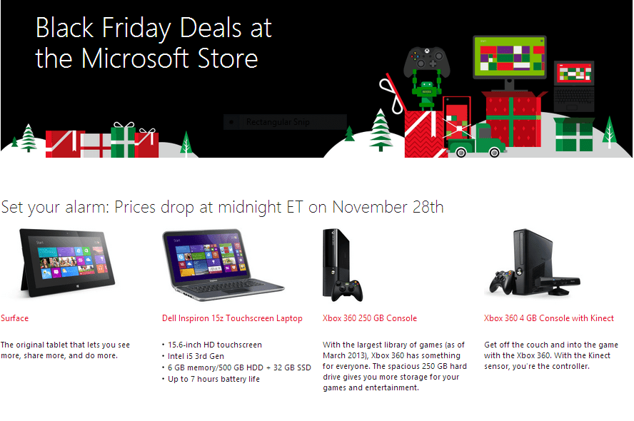 Microsoft Store Black Friday Deals: Price Drops on Surface