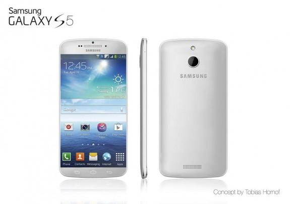 Metal Galaxy S5 concept.