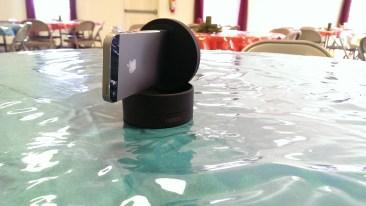 motrr galileo rotates around to take panoramas in a room