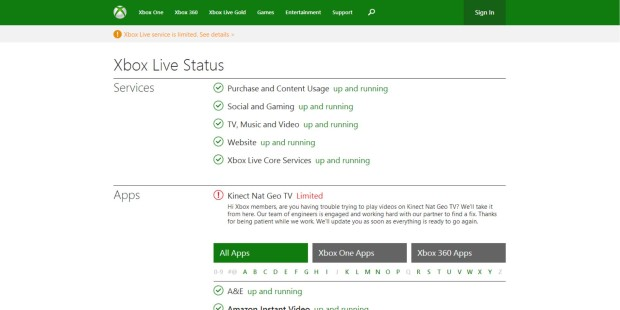 Is Xbox Live Online Here's How To Find Out 1 (6)