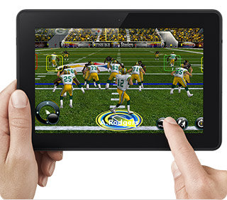 Kindle Fire HDX Gaming