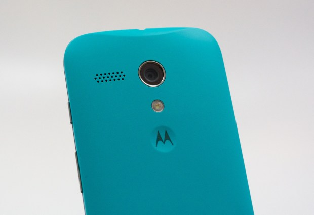 The Moto G speaker is weak, so buy a Bluetooth speaker or get headphones.