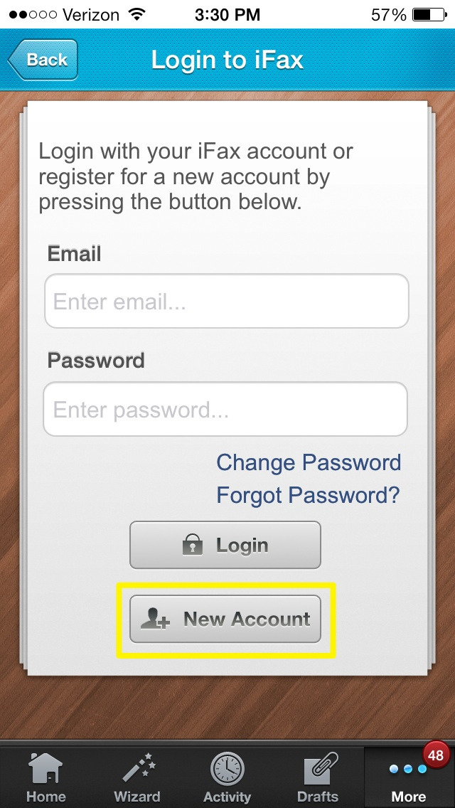 how to get a new email address on iphone