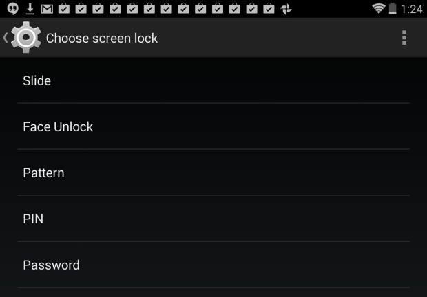 Nexus 7 Security