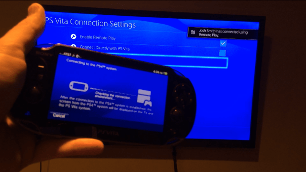 Set up PS4 Remote Play on the PlayStation 4 and PS Vita.