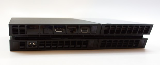 The PS4 connections do not include component output, but deliver other modern connectivity options.