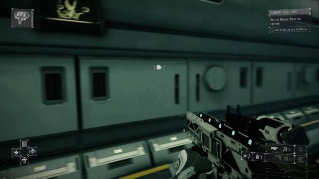 Killzone Shadow Fall on PS4.