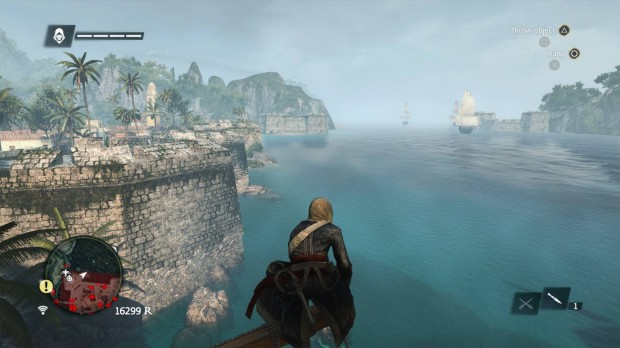 Assassin's Creed 4 Screenshot on the PS4.