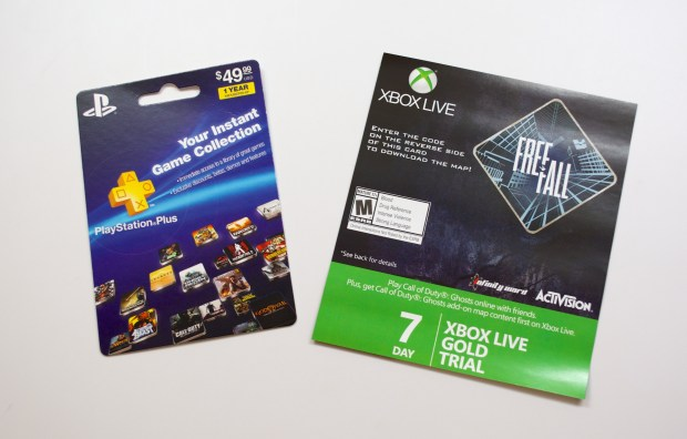 Gamers will need Xbox Live Gold ($60 a year) or PlayStation Plus ($50 a year) for a full experience.