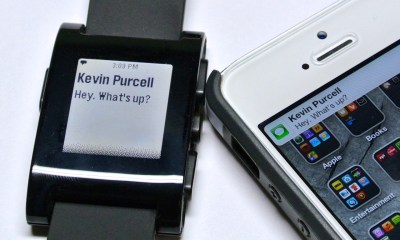 The Pebble is one of the top smart watches to look at.