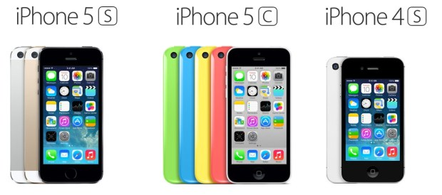 Should I buy the iPhone 5s, iPhone 5c or iPhone 4s? -- That is the popular question.