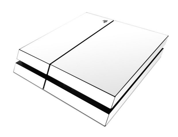 This white PS4 skin will make your PlayStation stand out.