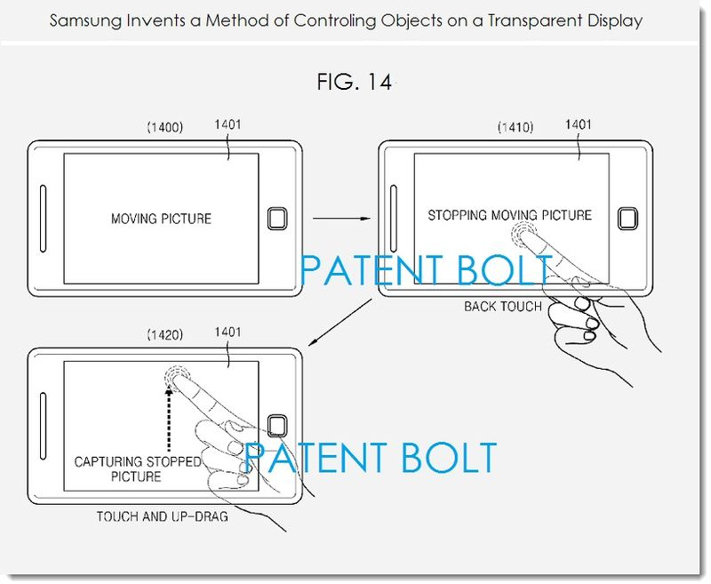 Samsung's Next Big Thing: A Transparent Galaxy S6 That You Can Tap From the Back